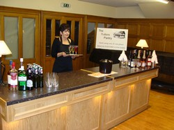 We offer a Bar Service