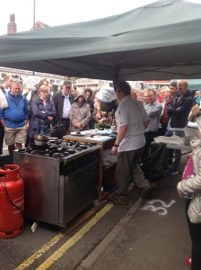 Butler's Pantry Cookery Demonstrations at The Mickleover Festival
